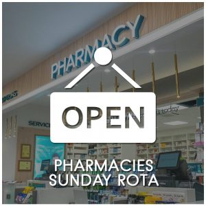 Pharmacies Sunday Rota
