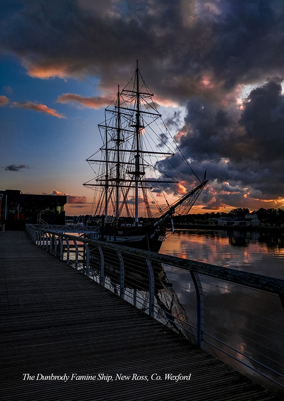 The Dunbrody Famine Ship, New Ross, Co. Wexford.